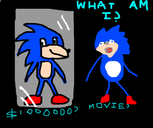 sonic has an identity crisis