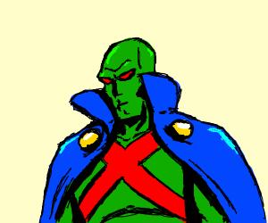 Mars Superhero