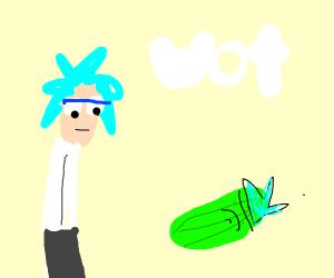 Rick meets Pickle Rick