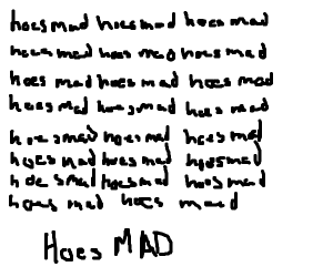 hoes mad [x24]