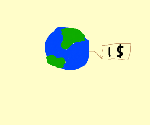 earth on sale for $1
