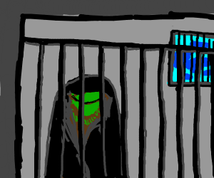 Shady Kermit is now behind bars