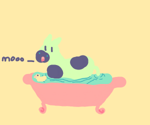 Cow in a Tub