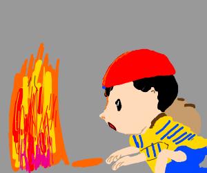 PK fire!