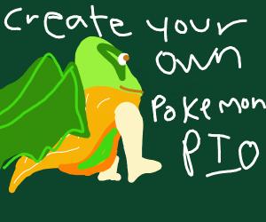 create ur own pokemon(pass on the message)