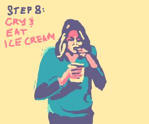 Step Seven: Feel really bad
