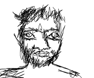 Scribbly face