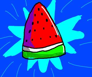 It's a watermelon!