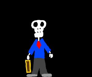 skeleton is ready for work