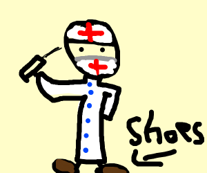 Doctor wearing Shoes