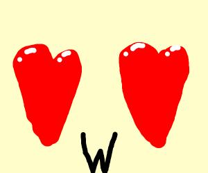 Heart W Heart