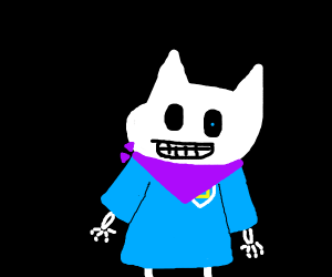 drawin myself as sans for drawception prompts