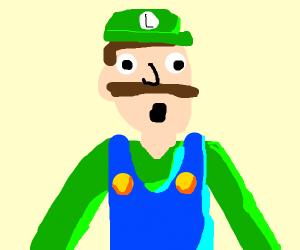 Surprised Luigi!