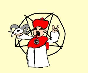 Satanic cardinal