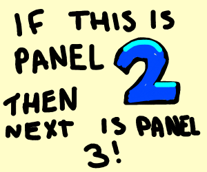 This is Panel 1, you are panel 2