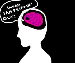 My brain when I chew 5 gum
