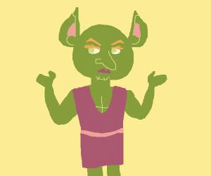 crossdressing goblin