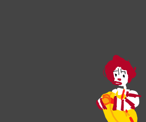 Ronald doesn't get the last laugh