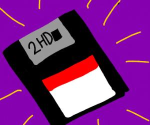 Floppy discc