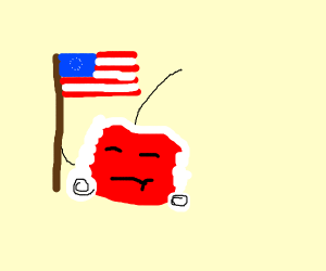 George Washington but a cherry