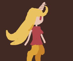 Unicorn Woman Humanoid
