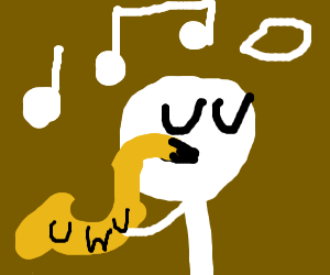 UWU a sax player