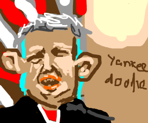 Trump sings Yankee Doodle