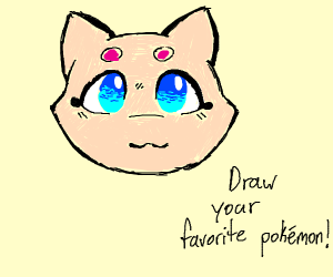 Draw your favourite pokemon! (PIO)