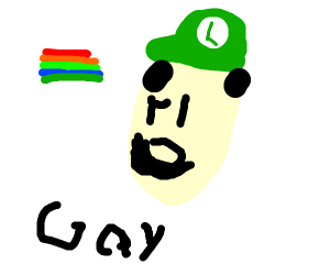 luigi is GAY
