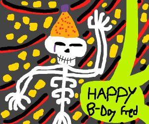fredrick the bone mans birth day