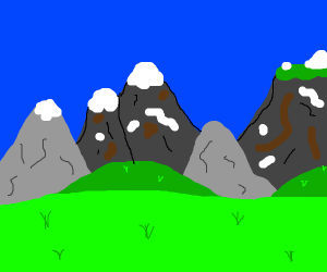 Snowwy mountains