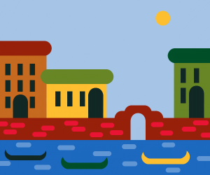Venice roads(boats)