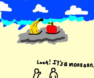 Fruit in a Monsoon