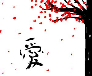 Japanese lettering?