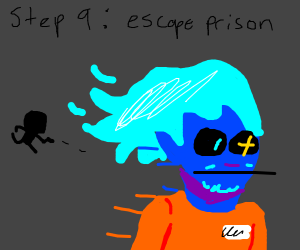 Step 8: The camel overlord throws u in prison