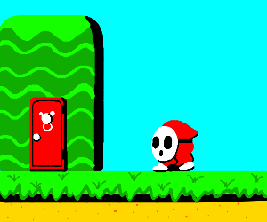 Shy guy (Super Mario bros.)