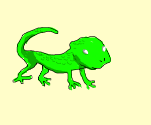 Lizard Concept Art