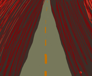 A barren Road