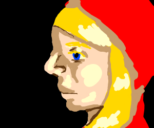 Red hooded kid