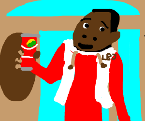 Hey, you wanna sprite cranberry?