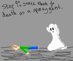Step 8: Go to your enemy and give them spooks