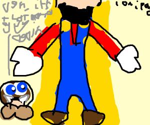 Mario hogs the spotlight