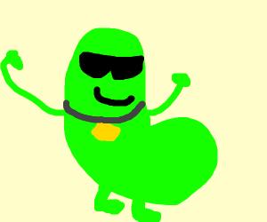 Proud bean