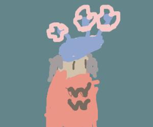 Wonder women in a flower crown