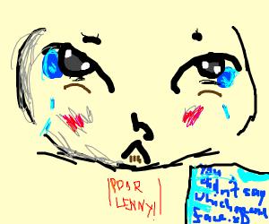 sad little meme face :c