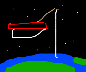 Fishing from space