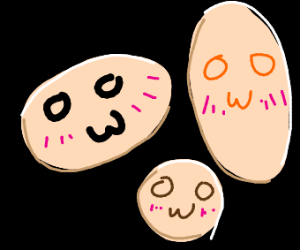 blushing OwO kawaii creatures