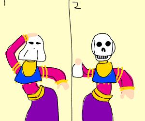 halloween belly dancers