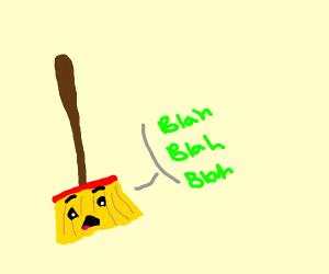 Talking Broom
