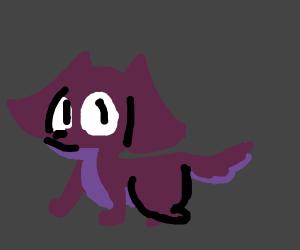purple doggy